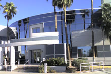 Exterior view of CARF building in Tucson, Arizona