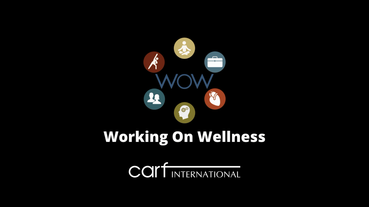 Introducing CARF's employee Working on Wellness Committee